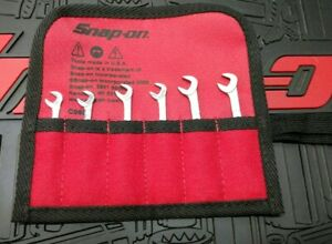Snap On Ignition Wrench Set Sae 13 64 15 16 6pcs With New Case