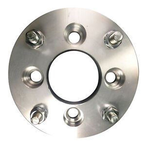 4x100 To 4x115 Us Wheel Adapters 19mm Thick 12x1 5 Lug Studs Billet Spacers X 4