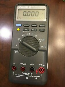 Fluke 87 True Rms Multimeter Tested Working Condition Great