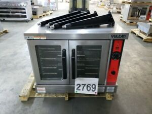 2769 New S d Vulcan Full Size Elec Convection Oven Nat Gas Model Vc4ed 208
