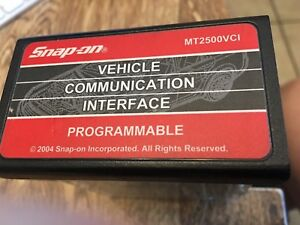 Seldom Used Snap On Mt2500vci Programmable Mt2500 Scanner Cartridge 2004
