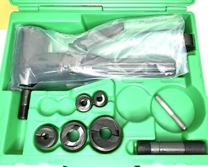 Greenlee 7904sb 7904e Quick Draw 90 Hydraulic Punch Driver Punch Set