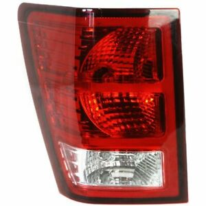 New Depo Tail Light Driver Side For 2007 2010 Jeep Grand Cherokee Ch2800172