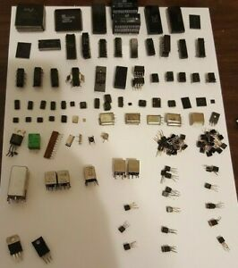 Vintage Modern Electronic Component Lot