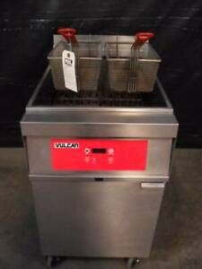 Vulcan 1er85d 85 Lb Electric Deep Fryer