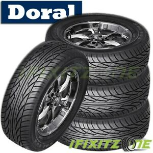 4 New Doral Sdl Series 205 55r16 91h All Season Performance Tires