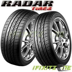 2 X New Radar Dimax R8 225 45zr17 Xl 94y All Season Ultra High Performance Tires