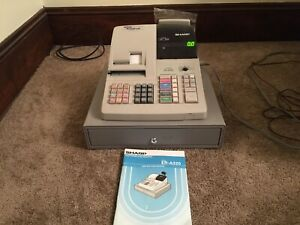 Sharp Electronic Cash Register Er a320 No Keys Included As Is