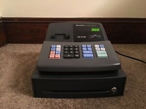 Sharp Xe a106 Electronic Cash Register No Keys