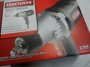 Craftsman 1 2 Drive 350 Ft Lb 8a Electric Impact Wrench Part 27990