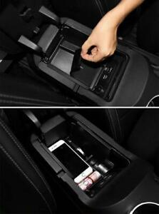 For Ford Mustang 2015 2019 Armrest Storage Box Glove Pallet Center Console Tray