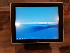 120gb Ssd hp Ap5000 Pos Touchscreen Intel Celeron 440 2ghz 2gb Win7 Pro By Hp