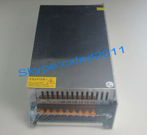 Ac100 120v To 0 250v Dc Output Adjustable1000w Regulated Switching Power Supply