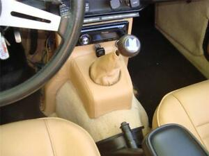 Triumph Tr6 Leather Console Dash Support Cover Shift Boot Combo