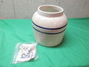 Springwell Stoneware Water Crock With Spigot Atlanta Georgia W Factory Packaging
