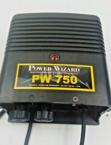 Power Wizard Pw750 110v Plug in Electric Fence Charger