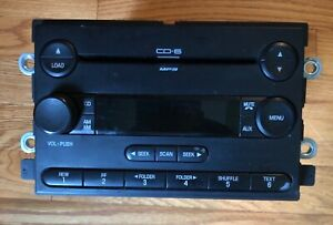 Ford Stereo Receiver Radio 6 Disc Changer And Mp3 Aux