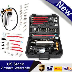 Non dismantle Fuel Injector Cleaner Tester Adapter Kit For Petrol Efi Throttle