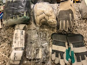 46 Qty Men Winter Warm Gloves Insulated Work Construction Heavy Duty Huge Lot