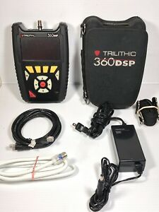 Trilithic 360 Dsp Cable Meter Signal Tester Home Certification 360dsp