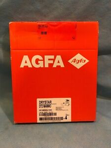 Agfa Drystar Dt2 Mammo Dry Medical Film Pack 100 Nif 25 X 30 2015 06