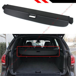For 2007 2018 Bmw X5 E70 F15 Retractable Trunk Cargo Cover Luggage Shade Shield