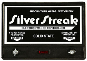 Fence Charger Silver Streak 541 Solid State free Lightning Fuse