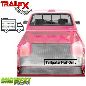 Trailfx Black Rubber Tailgate Mat D Fits 2015 2019 Ford F 150 All Bed Models