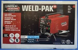 New Lincoln Weld pak Hd Flux Wire Feed Welder K2188 1