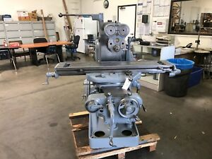 Milwaukee Model H Horizontal Mill