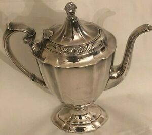 Eternally Yours Silver Plated Coffee Pot By International Silver 9701