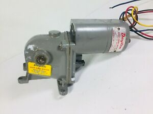 Vintage Dayton Gear Head Right Angle Electric Motor 1 2 Shaft