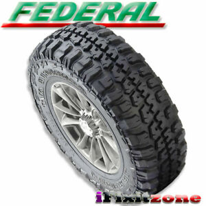 1 Federal Couragia M t 37x12 50r17 Mud Tires Lt 37x12 50x17 10 Ply 129q New