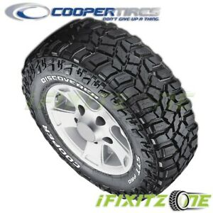 1 Cooper Discoverer Stt Pro 31x10 50r15 109q C Rwl Extreme All Terrain Mud Tires