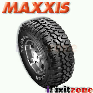 1 Maxxis Bighorn Mt 762 31x10 50r15lt 109q C 6 All Terrain Mud Tires New