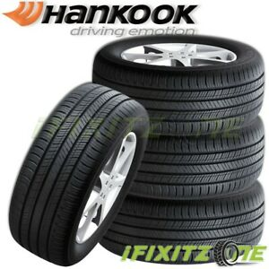4 New Hankook H436 Kinergy Gt 215 45r17 91v Xl Tires