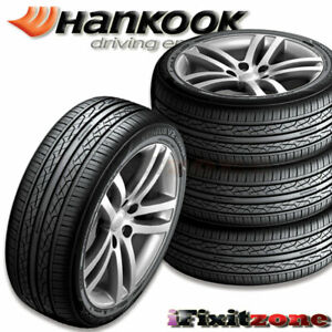 4 New Hankook H457 Ventus V2 Concept2 215 45r17 91v All Season Performance Tires