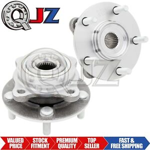 For 2003 2006 Mitsubishi Lancer Awd Model Front Pair 2pc Wheel Hub Assembly