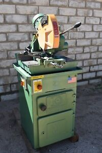 Used Doringer D350 Circular Cold Saw 14 3 Hp 220 Volts