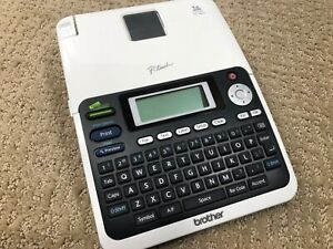 Brother P touch Label Maker Pt 2030 Large Display Bundle W Cartridges Guide