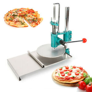 7 8 Pizza Dough Pastry Manual Press Machine Roller Sheeter Pizza Pasta Maker Us