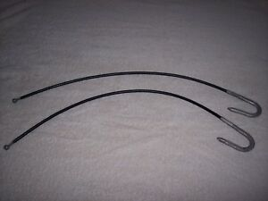 International Harvester Scout 80 1961 1965 Tailgate Cable Hooks New