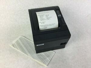 Epson M129c Tm t88iii Thermal Receipt Printer Serial Rs 232 And Ethernet Adapter