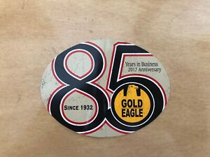 Gold Eagle 85 Years Sticker Decal Vintage Racing Off Road Tool Box 4