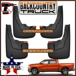 Backcountrytruck No Drill Mud Flaps Fit New Body 2019 Ram 1500 W Oem Flares