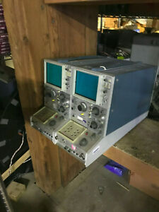 Tektronix 577 Curve Tracers Lot Of Two Please Read Entire Add