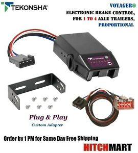 Voyager Trailer Brake Control Adapter For 2009 2019 Ford F150 F250sd F350sd