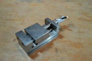 Precision Tool Makers Vise Machinist Made 2 3 8 Wide Jaws