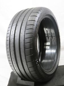 255 40zr18 Michelin Pilot Super Sport Zp Used 7 32 99y 255 40 18 18 4367