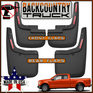 Backcountrytruck No Drill Mud Flaps 2015 2019 Ford F 150 W Oem Fender Flares